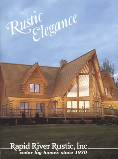 Rapid River Rustic Inc Free Literature Cedar Log Home